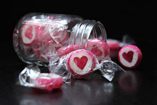 Candy, Corazón, Caramelo Del Corazón