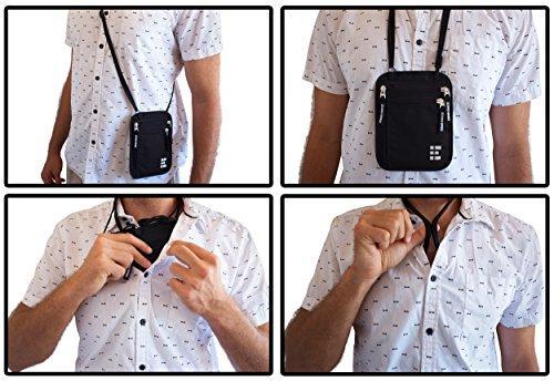 Resultado de imagen para travel neck pouch