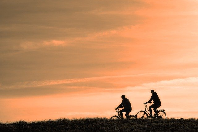 bikes for college students sunset