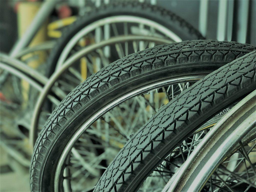 Tires bike pump